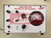 Millikans Oil Drop Apparatus Power Supply