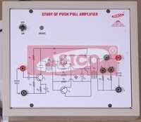 Transistor Push Pull Amplifier / Transformer Coupled Amplifier