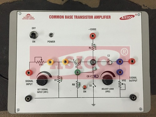 Common Base Transistor Amplifier