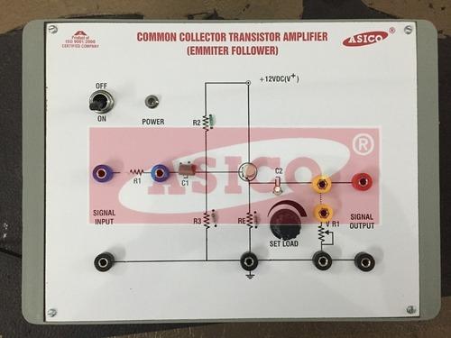 Common Collector Transistor Amplifier