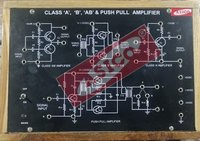 Study of Class A, B, AB and Push Pull Amplifier
