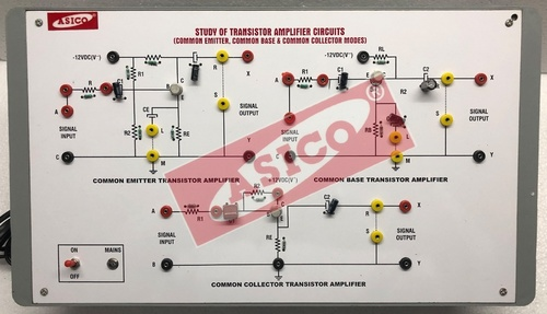 Transistor Amplifier Circuits (CE, CB & CC)
