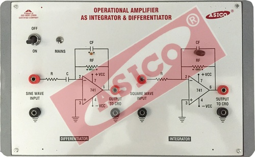 Operational Amplifier as Differentiator & Integrator