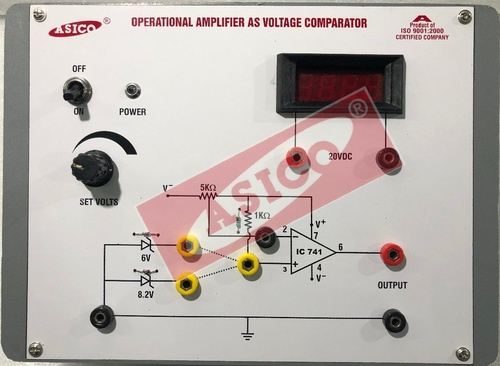 Operational Amplifier as Voltage Comparator