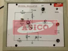 Study of Crystal Oscillator