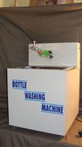 BOTTLE WASSHING MACHINE