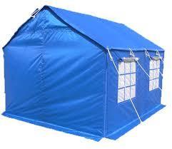 Tarpaulin tent sheet