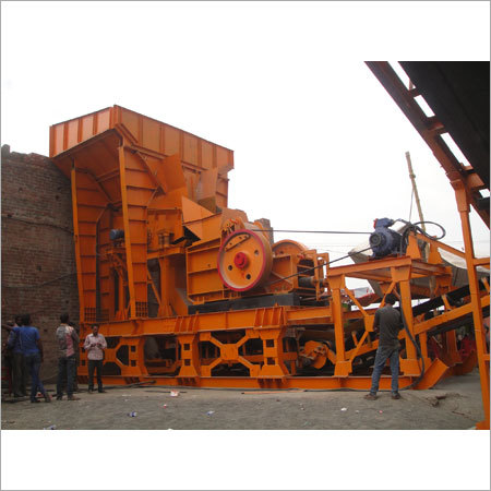 Jaw Crusher Primary Hopper