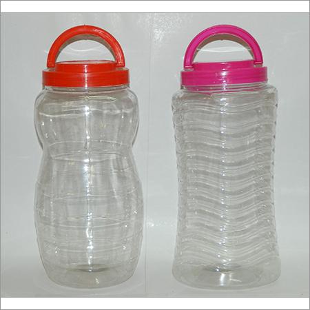 Designer Plastic Pet Jars