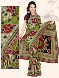 New Printed Cotton Saree