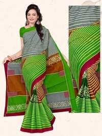 Light Green Cotton Saree