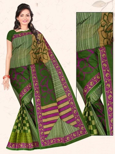 Mulika Cotton Saree With Blouse Piece