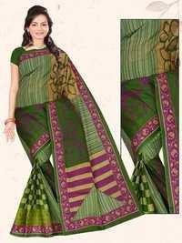 Mulika Cotton Saree With Blouse Piece