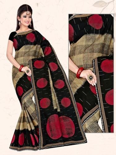 Cotton Printed Saree Jetpur