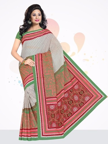 Manyta Cotton Printed Saree
