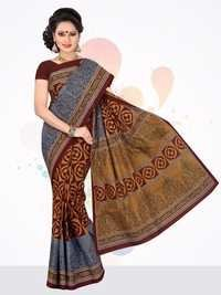 Cotton Printed Saree Catalog