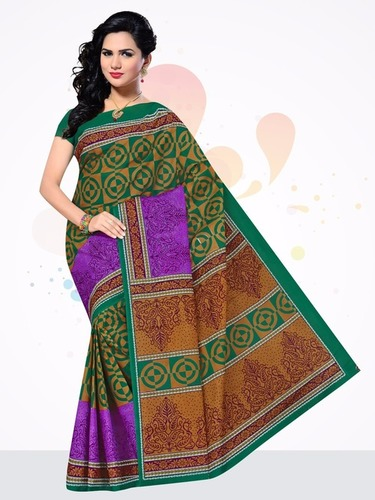 100% Cotton Sarees Jetpur