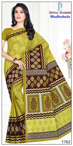 Desinger Madhubala Cotton Saree