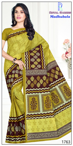 Desinger Madhubala Cotton Saree