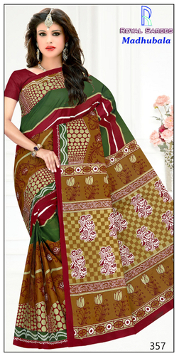 Cotton Saree in India