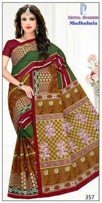 Cotton Saree in India