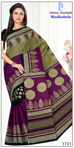 Madhubala Cotton Saree
