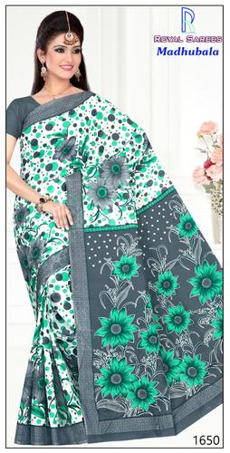 Madhubala Cotton Saree