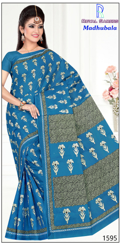 Cotton Printed Saree Madhubala