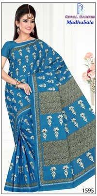Cotton Printed Saree Madhubala
