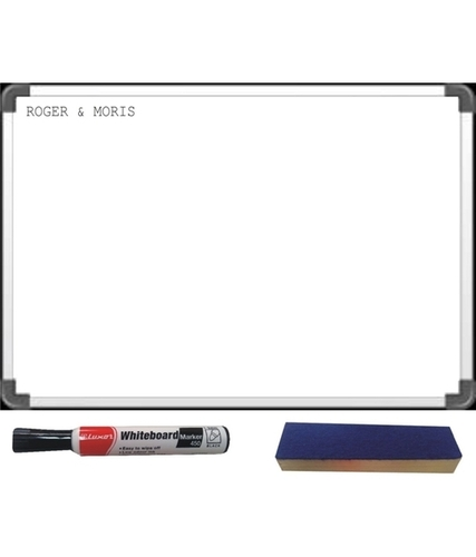 Non Magnetic Aluminium Frame White Board