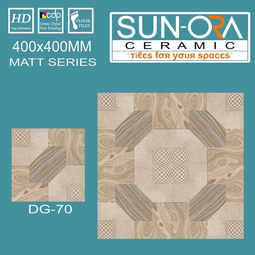Digitally Printed Floor Tiles