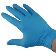 Hand gloves latex nitryle