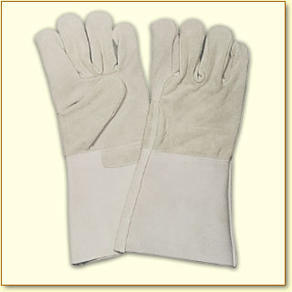 Hand gloves leather
