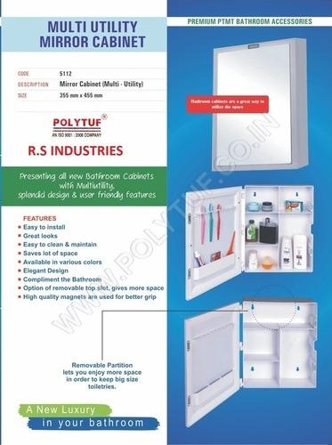 Multy Utility Mirror Cabinet