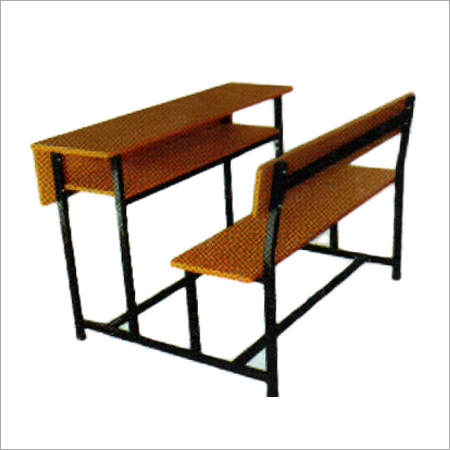 Wooden School Benches