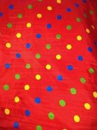 Poly chirag print fabrics 44
