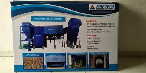 Direct Fired FBC Fuel Hot Air Generator