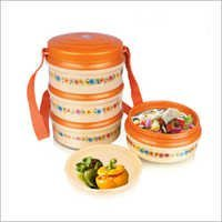 Plastic Insulated Tiffin Box