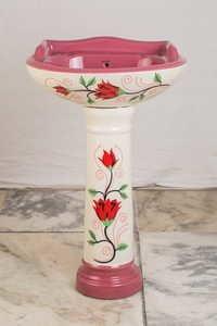 Vitrossa Pedestal Wash Basin