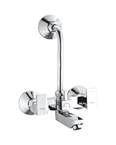 2 in 1 Brass Wall Mixer