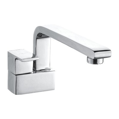 Sink Tap With Swinging Casted Spout