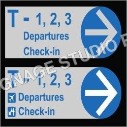 Airport Signage Boards
