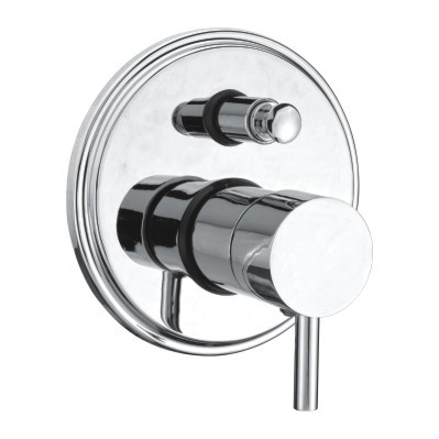 Single Lever Bath Shower Valve Diverter