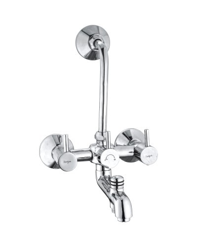 Brass Wall Mixer 3 in 1