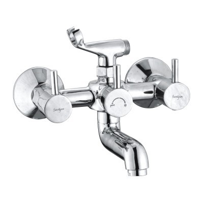 Brass Wall Mixer With Crutch