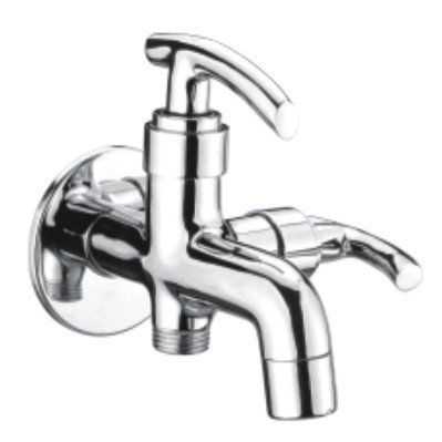 Brass Bib Tap 2 Way