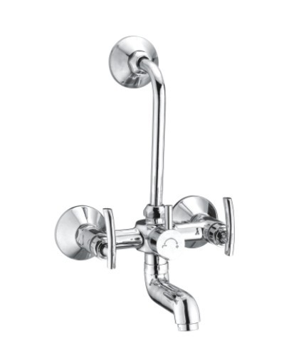 CP Wall Mixer With Long Bend