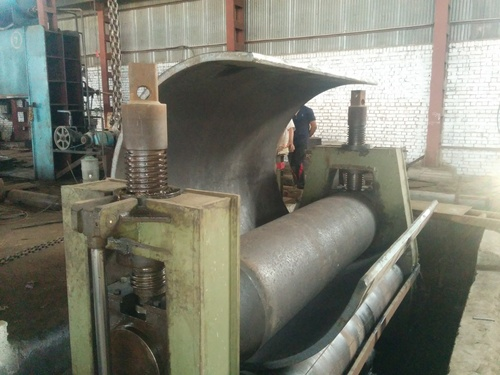 Shell Rolling bending capacity upto 80mm thick