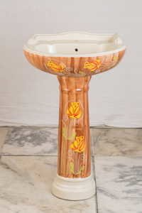 Antique Pedestal Basin