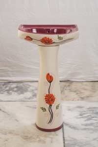 Simple Pedestal Basin